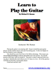 Guitar lesson book